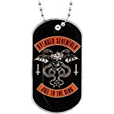 Avenged Sevenfold Hail To The King A7X Dogtag Necklace