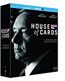 House of Cards - Intégrale saisons 1-2-3-4 [Blu-ray + Copie digitale]
