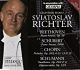 Sviatoslav Richter: Legendary Pianist: plays Beethoven, Schubert, Chopin and Schumann [Collector's Edition, ] - BBC