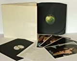 THE BEATLES White Album No 0171501. With black inners, poster and Fab Four photos.Great Copy First UK pressing. 1968.